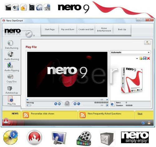 Nero 9 full 2017 new. Version compatible con windows 7.